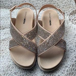 Fashion Nova sandals shoes slides